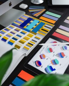 Branding Board colors