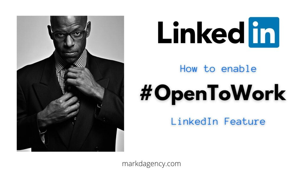 Open to Work LinkedIn tutorial