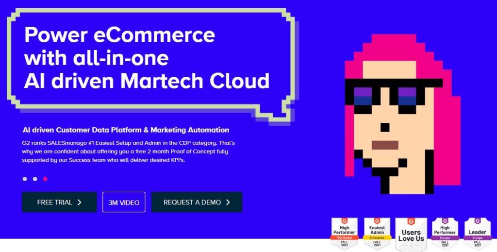 salesmanago AI customer platform